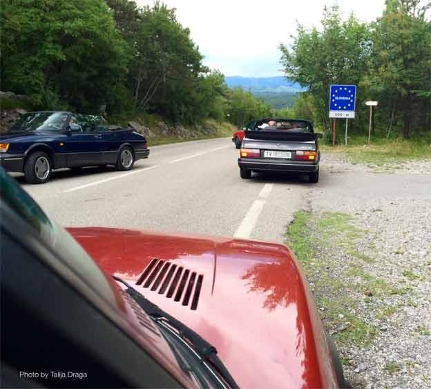Saab 900 Cabrio meeting