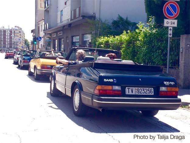 Saab 900 meeting