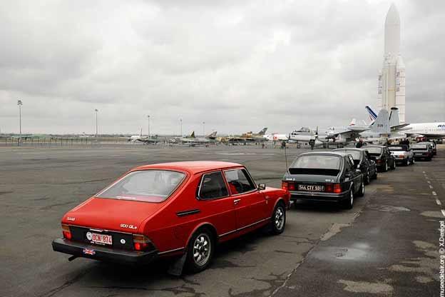 Saab 900 Classic in Paris