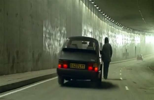 Saab 900 in Music video