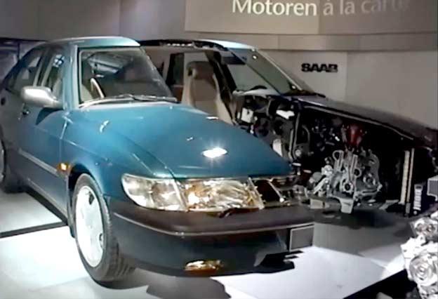 Saab 900 SE Cutaway
