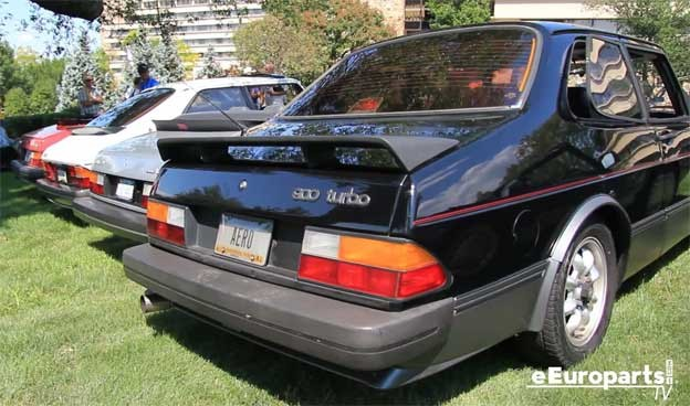 Saab 900 at SOC 2015