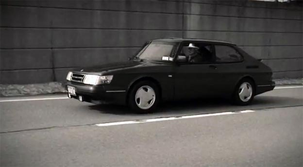 "Saab 900 Turbo SPG in video for ""My God is an Angry God"""