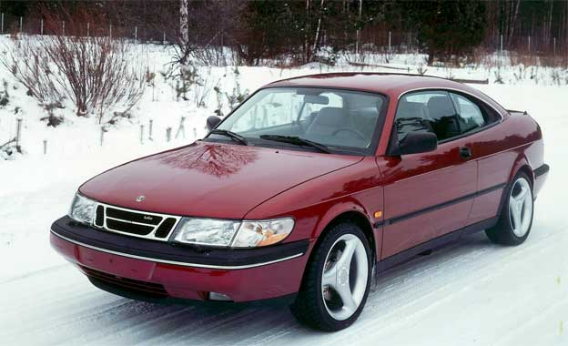 Saab 900 sport coupe with hard top