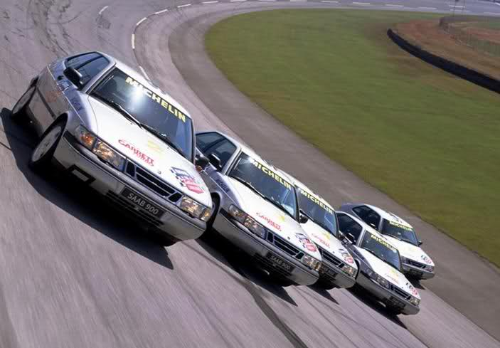 Saab 900 talladega - The Long Run