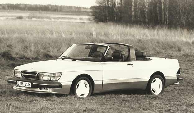 Saab 900 Targa