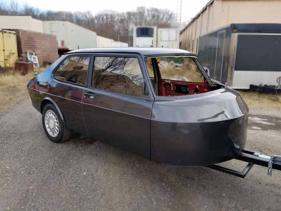 Saab 900 trailer