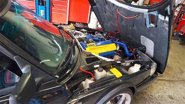 Saab 900C SIS Tuning T5