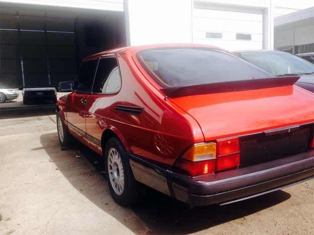 Saab 900 turbo after restoration