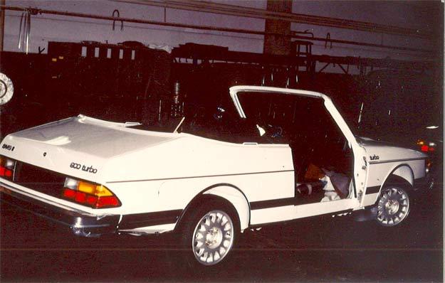Saab 900 Cabrio's prototype