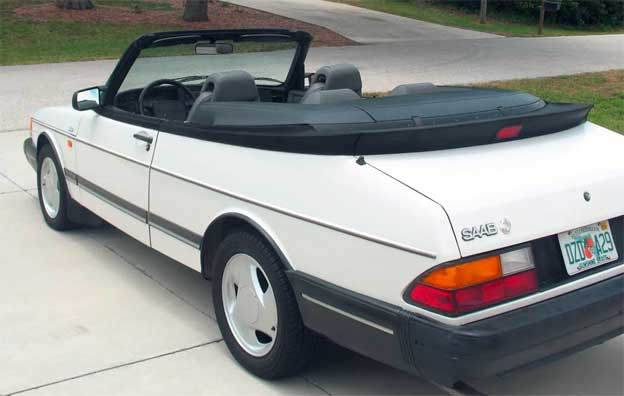 beautiful 1992 saab 900 turbo convertible for sale. Black Bedroom Furniture Sets. Home Design Ideas