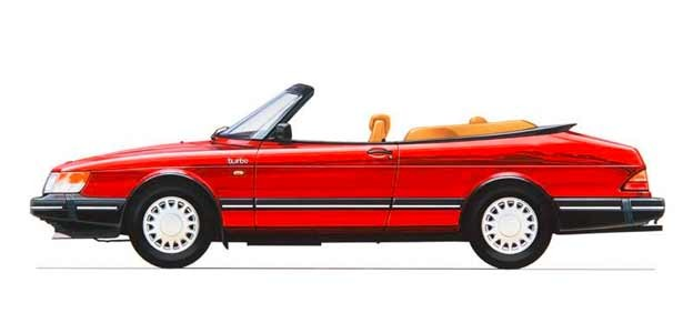 Saab 900 Turbo Cabrio