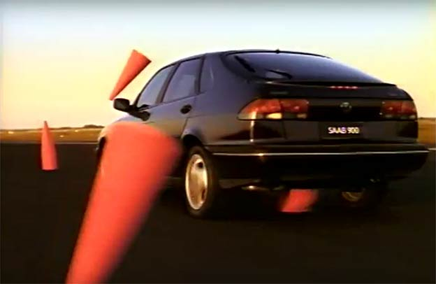 Saab 900 TV commercial from 1993