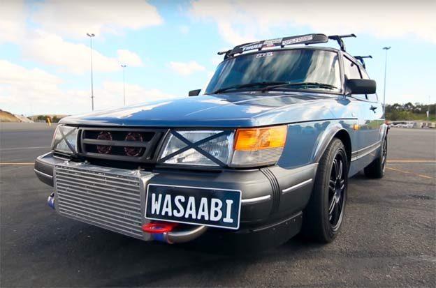 Saab 900 Wassabi