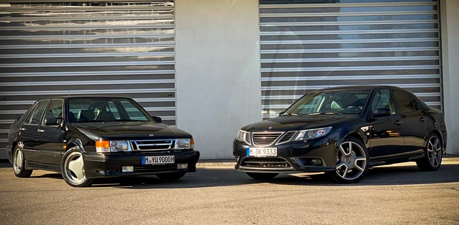 Only one part is excluded from the Saab collection in Dejan's possession