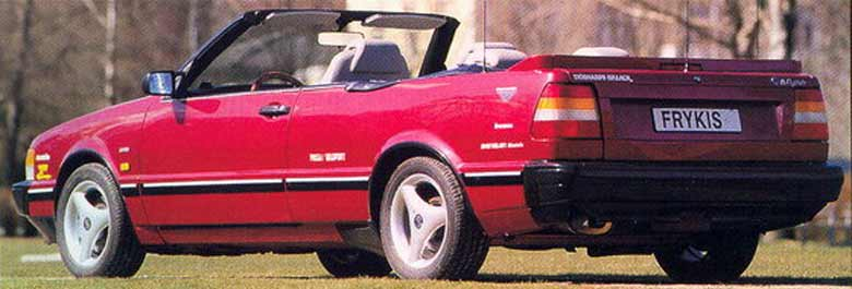 Custom Saab 9000 cabrio - the proportions and design is really good