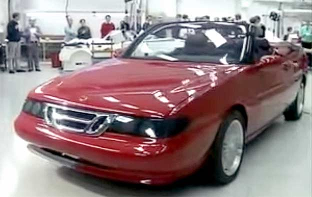 Saab 9000 Convertible