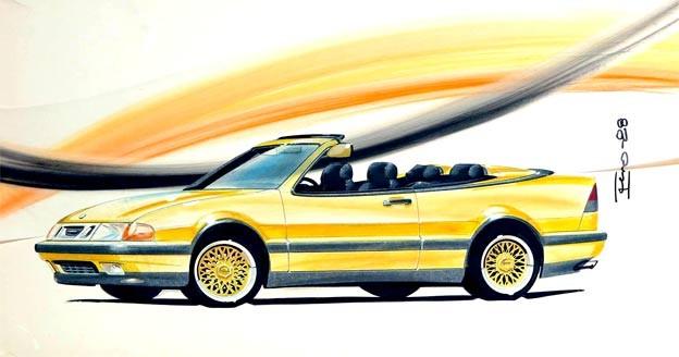 Saab 9000 Fivebow Concept