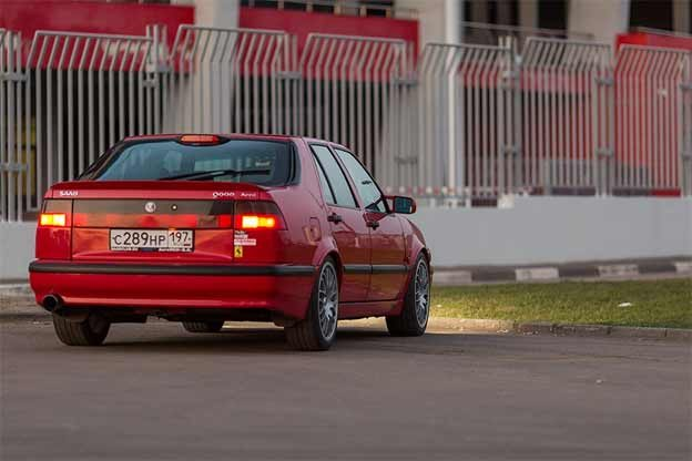 Tuned Saab 9000 from Russia
