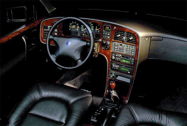 Inside the Saab 9000