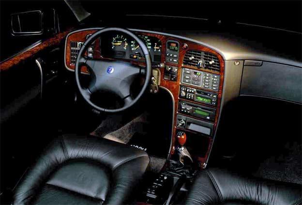Saab 9000 interior review