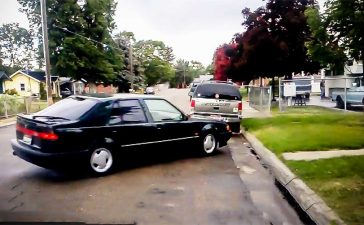 Saab 9000 Handbrake Parallel Parking