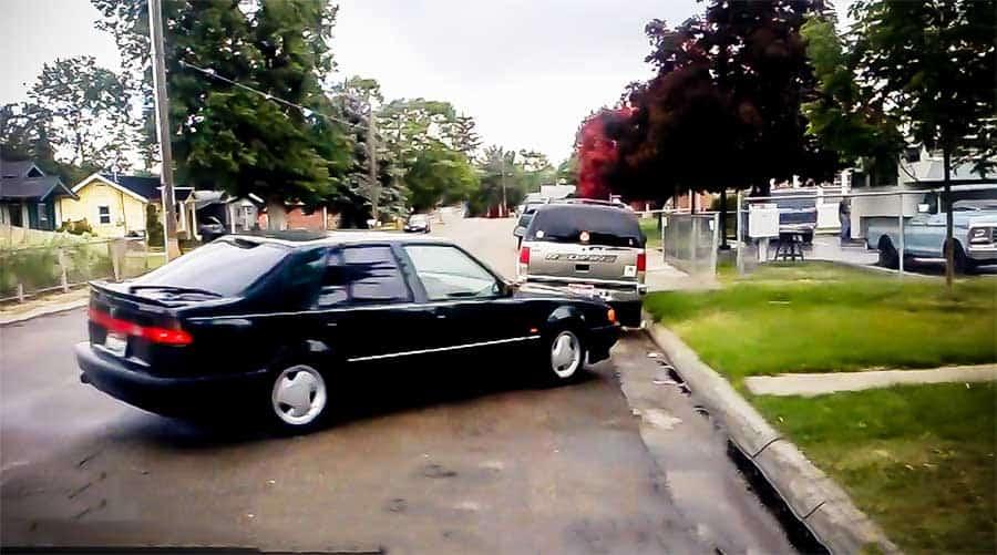 Saab 9000 Handbrake Parallel Parking