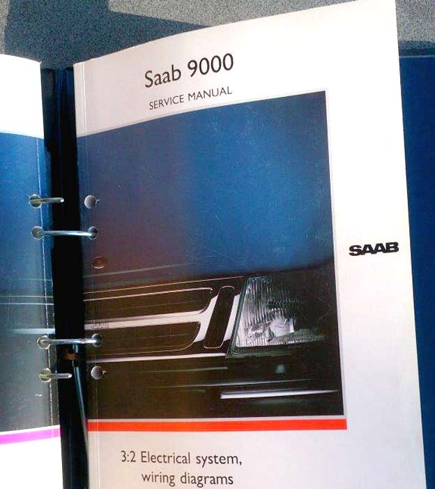 Workshop Manuals For Saab 9000 In English  U2013 Saab Planet