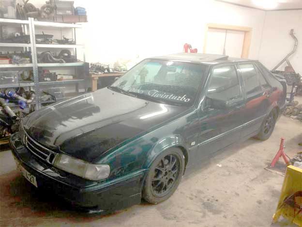 Andy builds Saab 9000 TwinTurbo