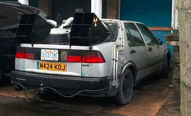 Saab 9000 or DeLorean?