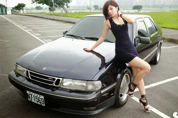 Saab 9000 from Thailand