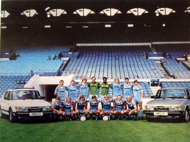 Saab 900 & FC Manchester City