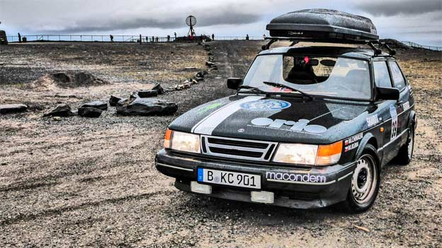 Saab 900 in Baltic Rally 2015