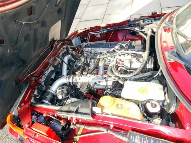 185hp version of Saab's original 16 valve motor - Carlsson