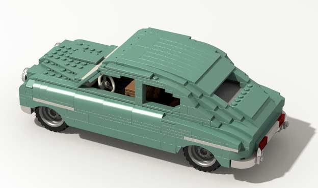 Saab 92 Lego