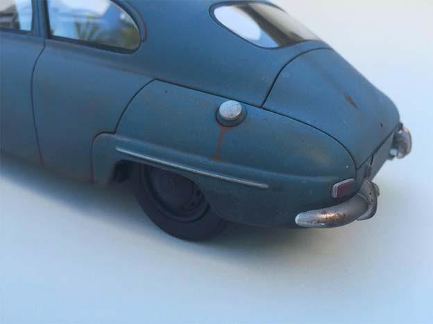 Saab 92 Scale model