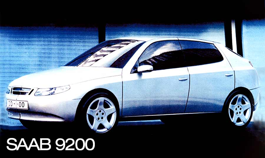 Saab 9200 Scale model
