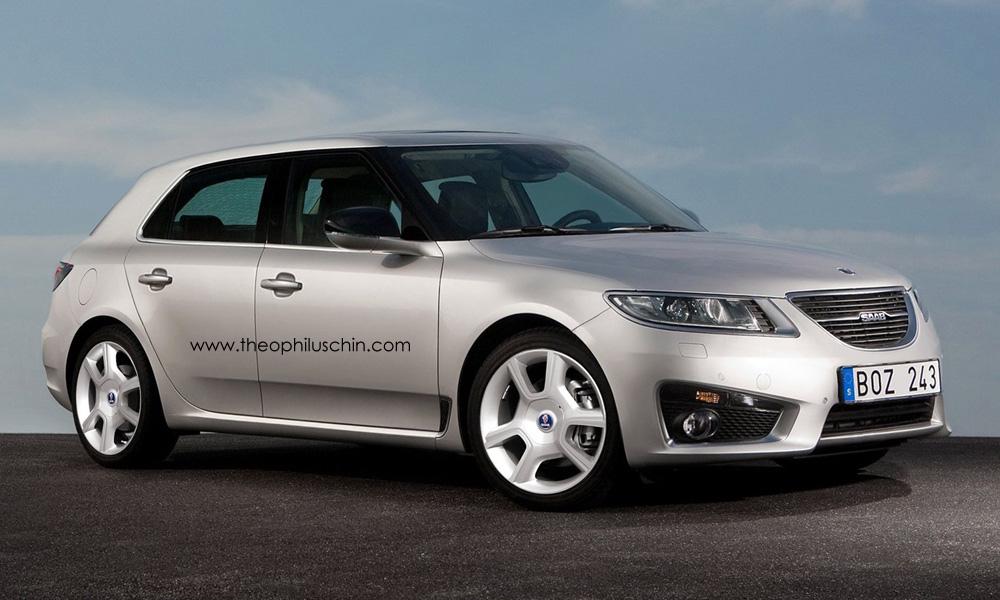 Mini Saab 9-2