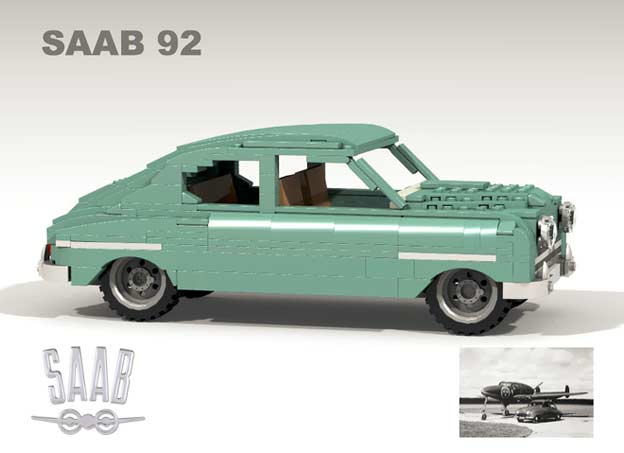 SAAB 92 on LEGO Ideas