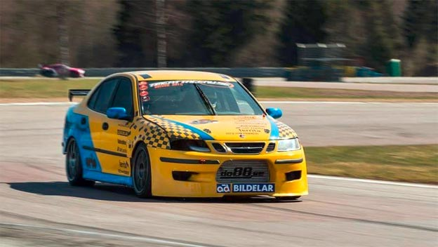 Timeattack: Saab 9-3 ss Nordic Motorsport