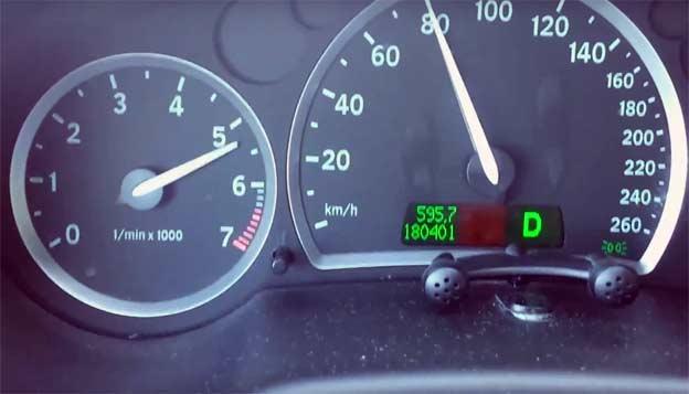 Saab 9-3 Sportcombi 2.0T Acceleration