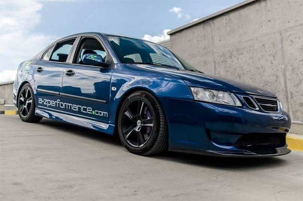 saab 9-3 A-Zperformance body kit