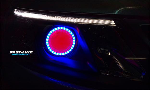 Saab 9-3 Custom COB LED Headlights
