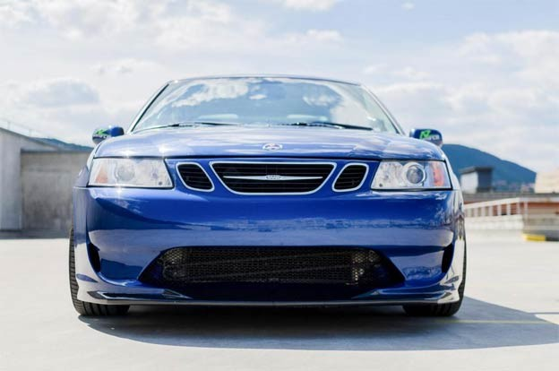 saab 9-3 A-Zperformance body kit - front bumper