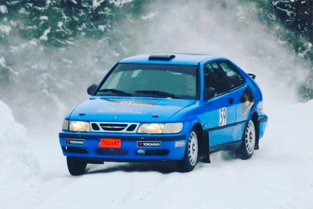 Saab 9-3 Rally