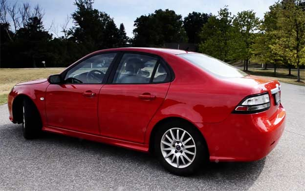 Saab 9-3 in Video review