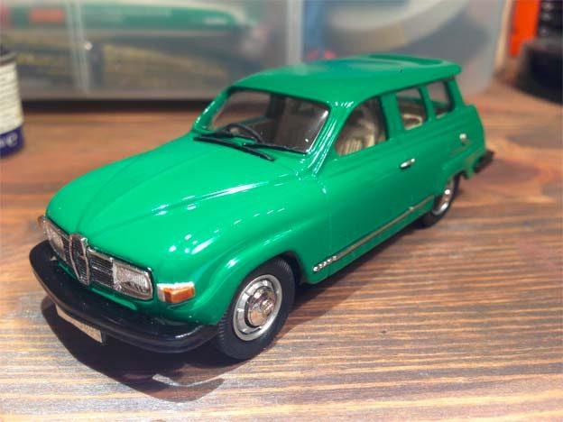 Saab 95 scale model