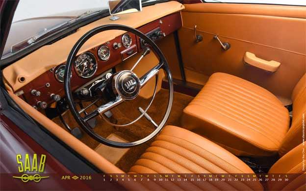 Saab 95 calendar