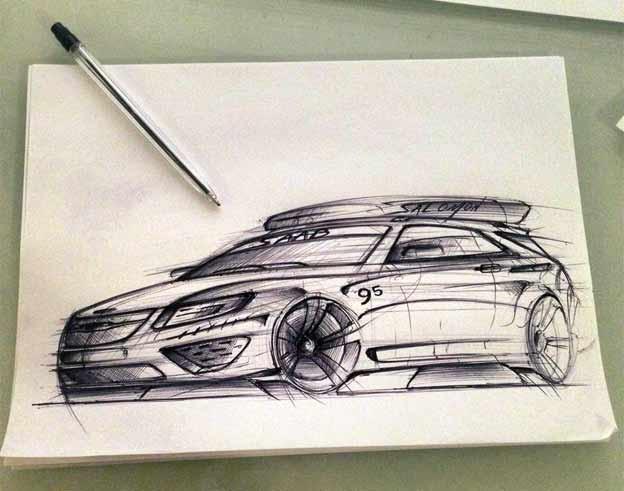 Saab 9-5 Concept