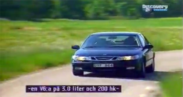 "Saab 9-5 in ""Turbo"" TV Show"